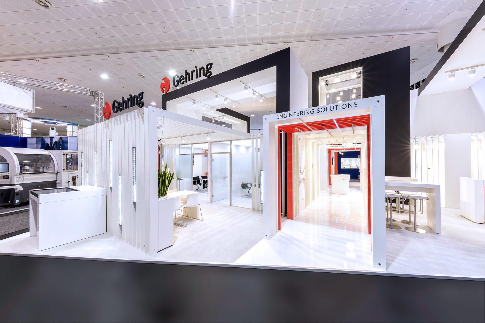 »Designing Business für Gehring Technologies – Neuer Markenraumauftritt für die EMO 2017«