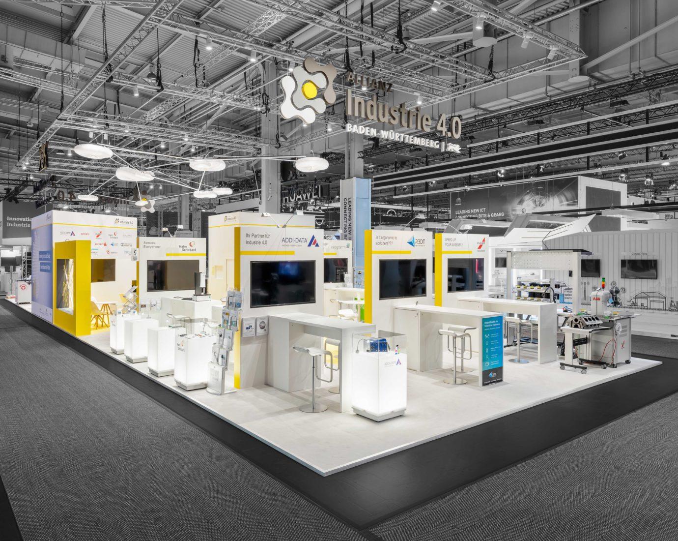 DIMAH Messe + Event Allianz Industrie 4.0 Baden-Württemberg Messeauftritt