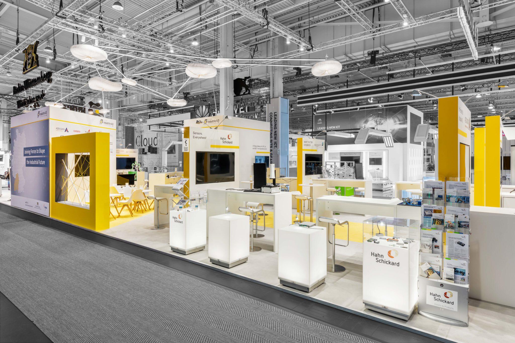 Allianz Industrie 4.0 Baden-Württemberg Messestand auf der Hannover Messe 2019