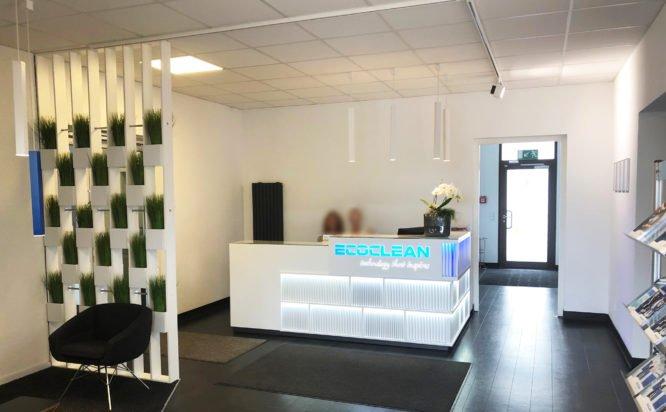 Ecoclean GmbH - Eingangsbereich