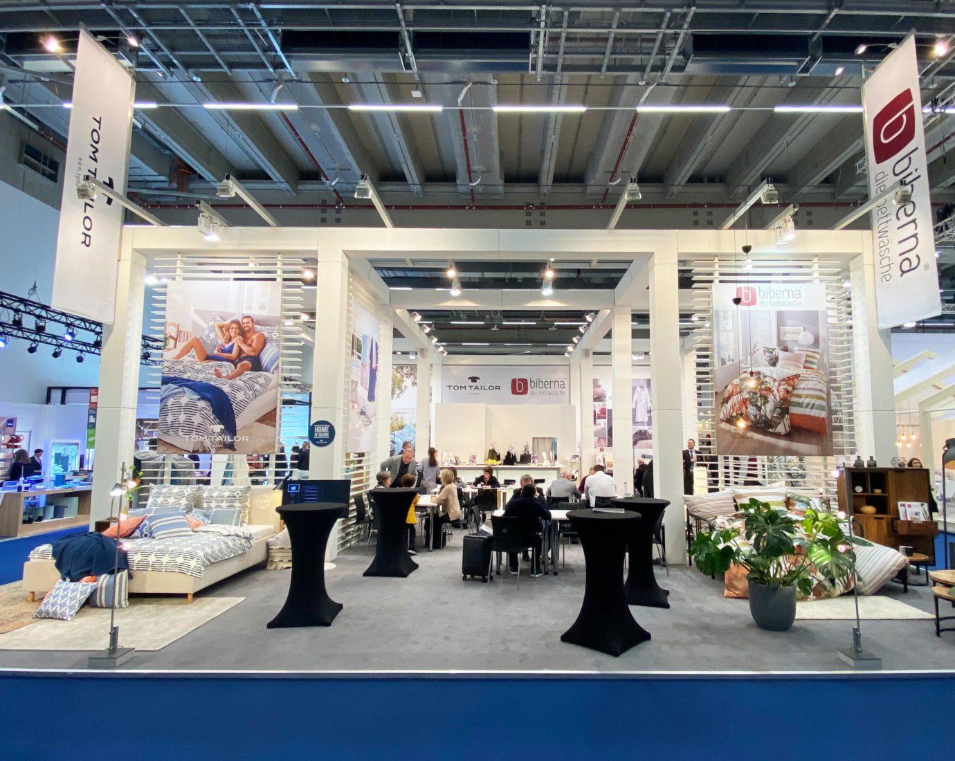 H.u.W. Schmänk GmbH & Co. KG auf der Heimtextil 2020 in Frankfurt.
